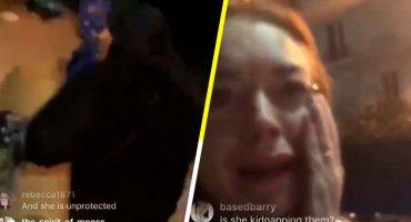 Golpean a Lindsay Lohan por acusar a pareja de secuestrar a sus propios hijos