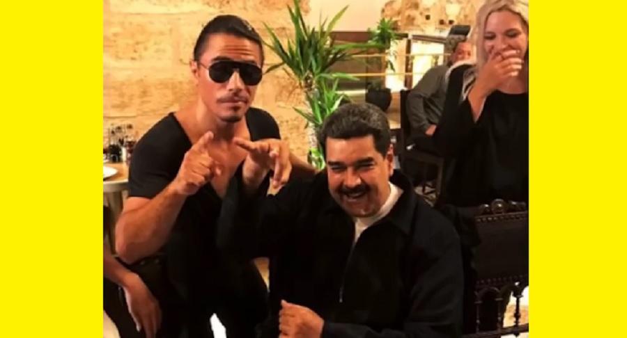 Nicolás Maduro disfruta banquete en lujoso restaurante, mientras venezolanos pasan hambre