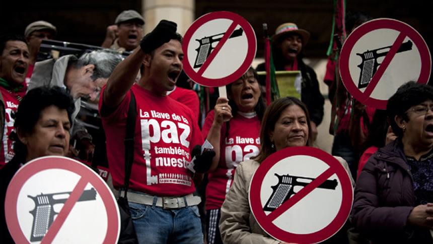 México es el tercer país con más muertes por armas de fuego