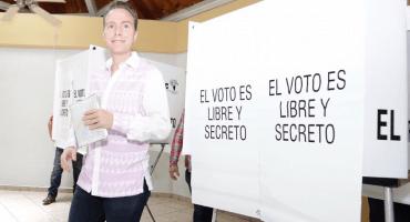 """Manuel Velasco pide votar a favor del Tren Maya, """"traerá muchos beneficios"""