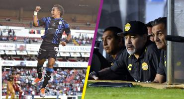 Los golazos con los que Maradona quedó con la boca abierta y fuera de la Copa