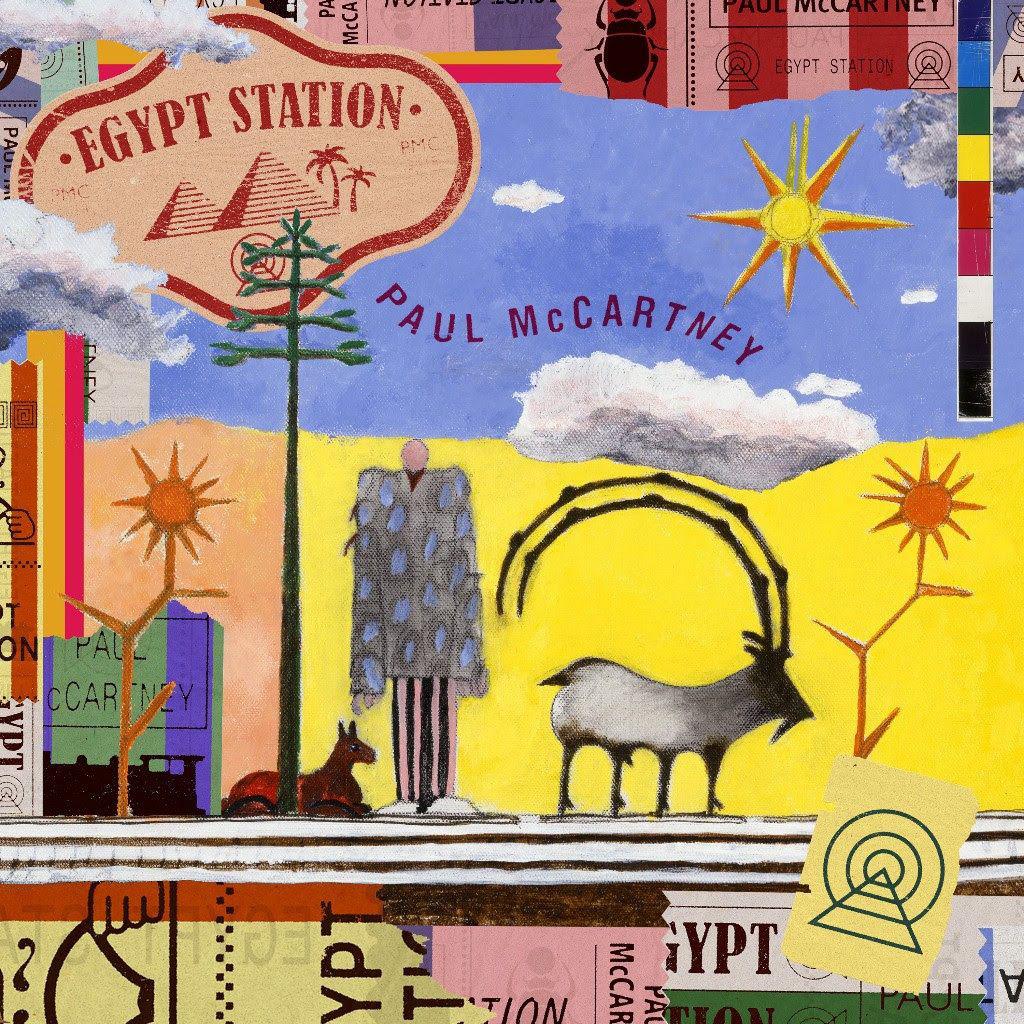 Paul McCartney liberó su disco número 17: 'Egypt Station'