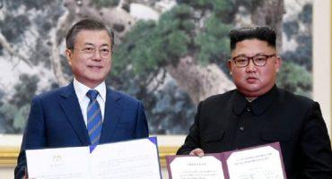 Las Coreas acuerdan pacificar la península y hasta irán juntos a Juegos Olímpicos