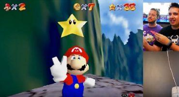 Nerdgasmo: El sujeto que completó Mario 64 con el ratón de Nintendo