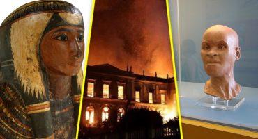 ¿Qué obras o colecciones se perdieron en el incendio del Museo de Brasil?