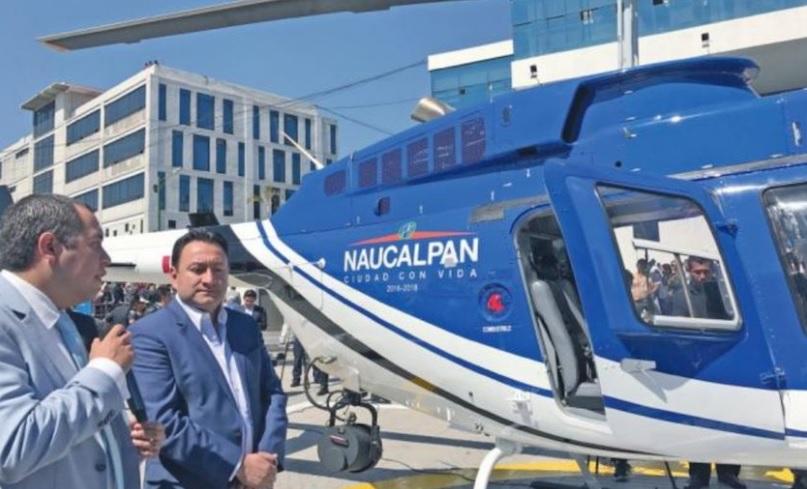 Helicóptero de Naucalpan