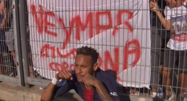 ¿Respuesta justa? Neymar protagonizó polémico festejo en la victoria del PSG