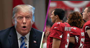 Trump se burla de la primera semana y los bajos raitings de la NFL
