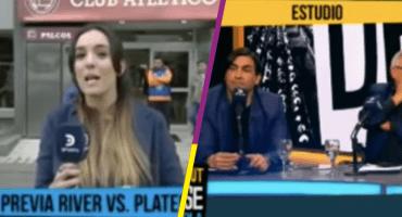 Periodista argentina se defiende de comentarios machistas de ex futbolista
