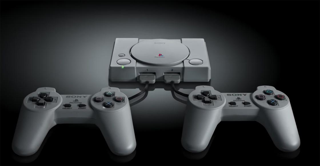 La primera PlayStation recibe una versión en miniatura