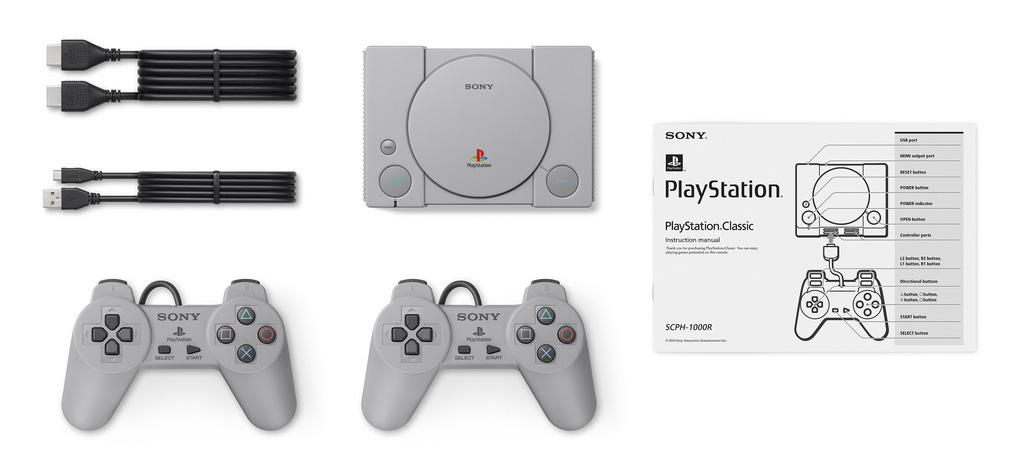 ¡Dios! Sony trae de vuelta el PlayStation Classic con 20 juegos precargados