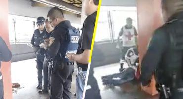 Una más en el Metro: Hieren a policía encubierto en la estación Aragón