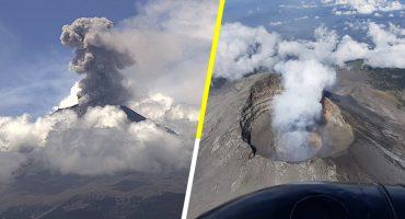 ¡Aguas con don Goyo! Van 7 explosiones y 82 exhalaciones en 24 horas en el Popocatépetl