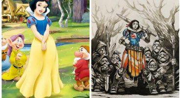 Imperdible: ¡Un artista convirtió a las princesas Disney en guerreras!