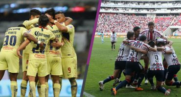 ¿Qué jugadores son bajas de América y Chivas para el Súper Clásico?