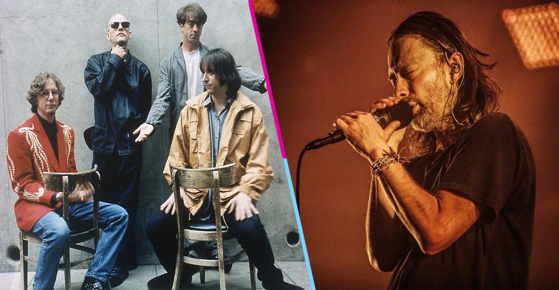 Escucha la versión inédita de 'E-Bow the Letter' de R.E.M. con Thom Yorke