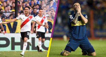 Los goles con los que River le ganó el clásico argentino a Boca