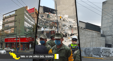 19S: A un año del sismo: La reconstrucción incompleta de la Roma-Condesa
