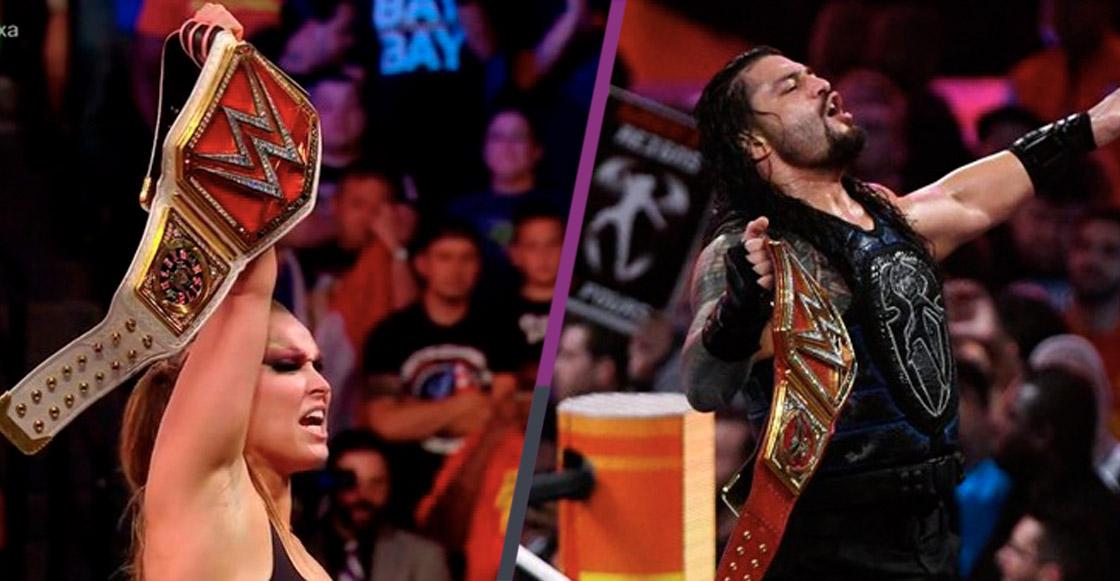 Ronda Rousey presente en peleas de campeonato entre SmackDown y RAW en México