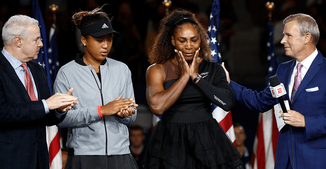 Serena Williams es sancionada con 17 mil dólares por sus berrinches en la Final del US Open
