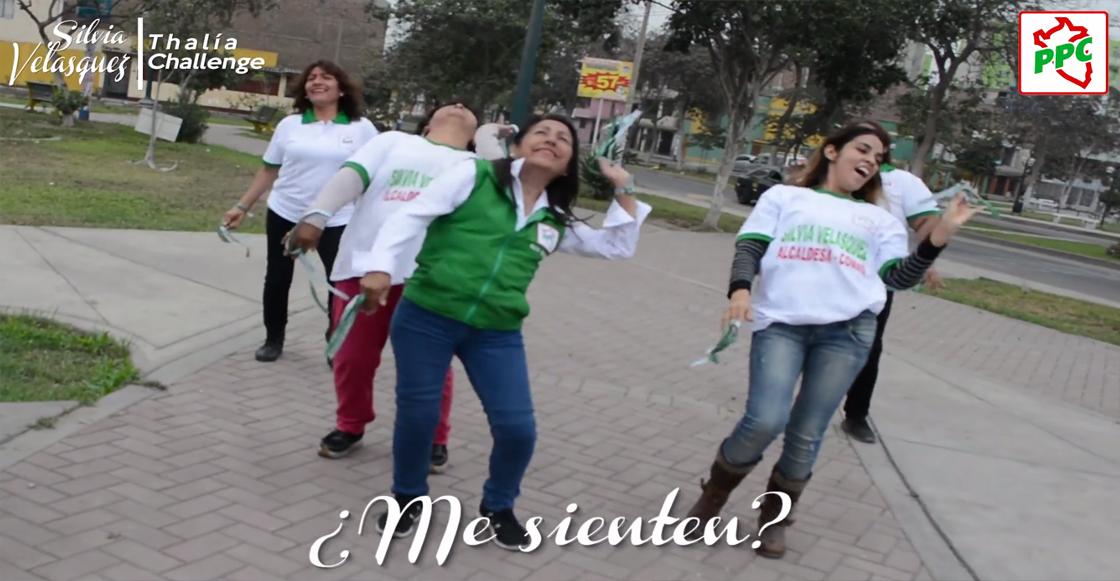 ¡A un lado Tigresa del Oriente! Candidata promociona su campaña con el 'Tiki Tiki' de Thalía