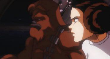 Nerdgasmo nivel: Star Wars en versión anime de los 80