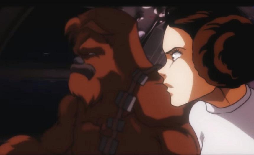Star Wars - Versión anime