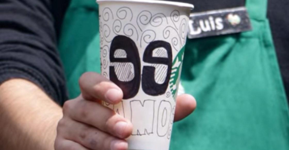 Este domingo tu Starbucks será marcado con un 99 por esta razón