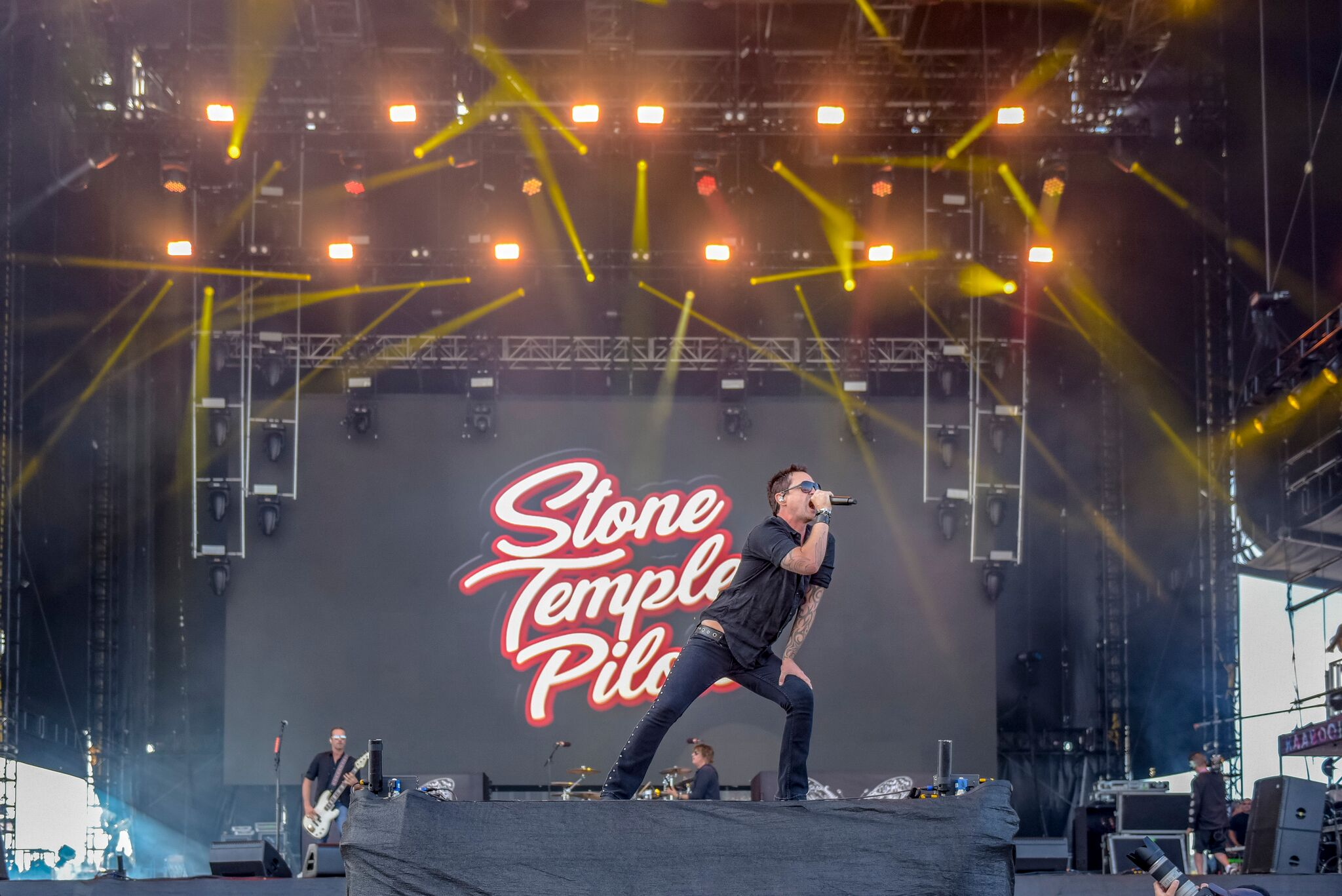 Stone Temple Pilots en Kaboo