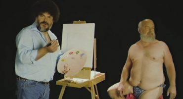 """Jack Black saca su """"Bob Ross"""" interior en este video promocional para Tenacious D"""