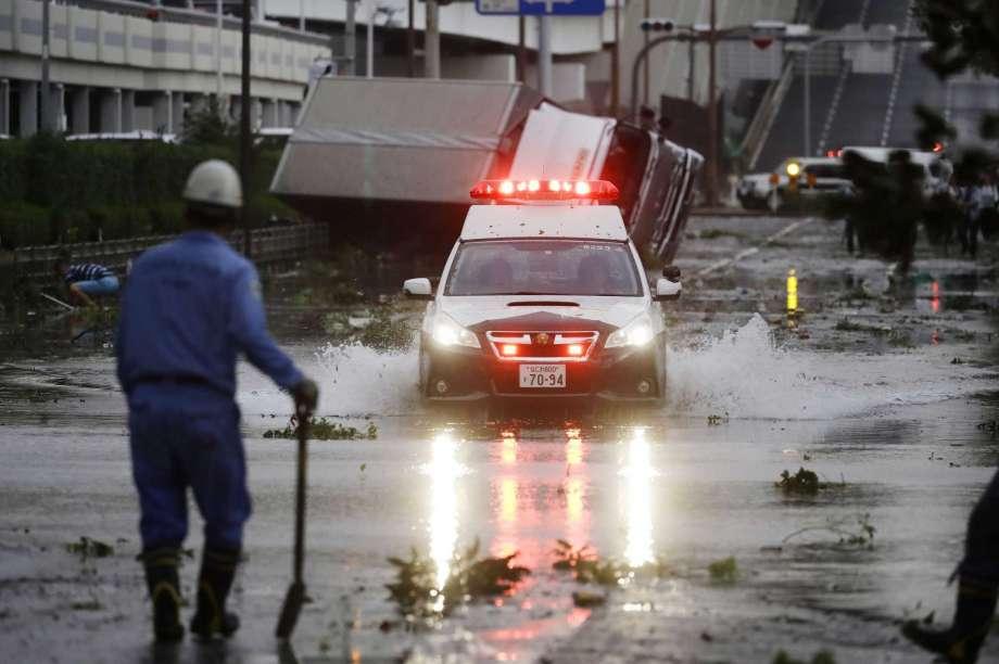Tifó Jebi en Japón