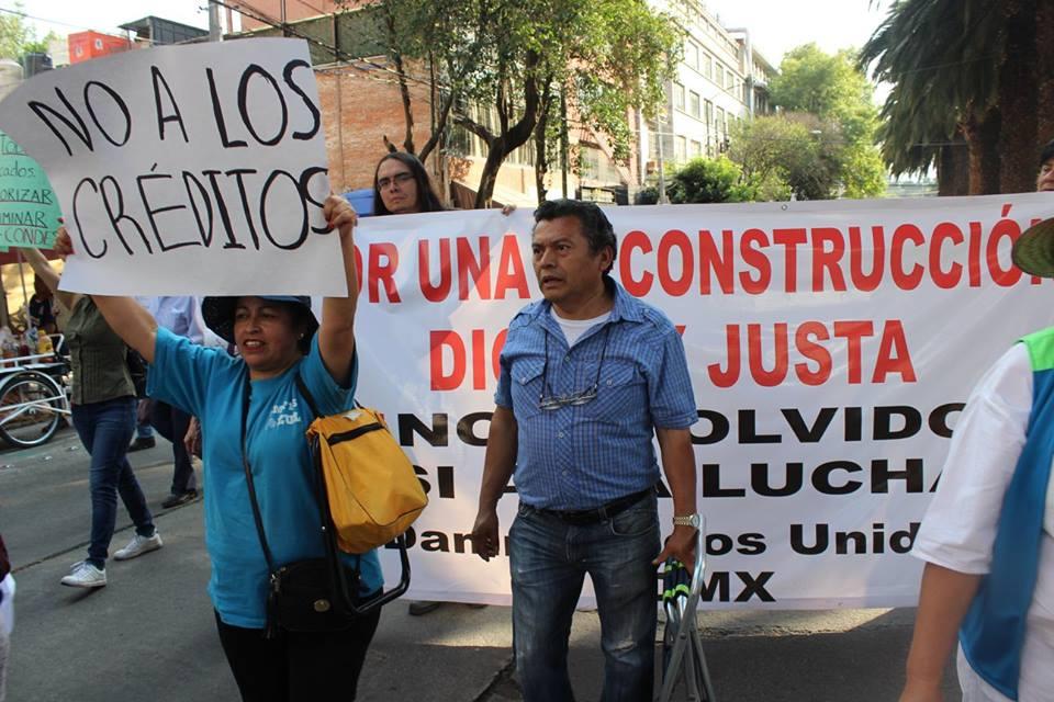 19S: A un año del sismo: Un año de lucha y resistencia para el Multifamiliar Tlalpan