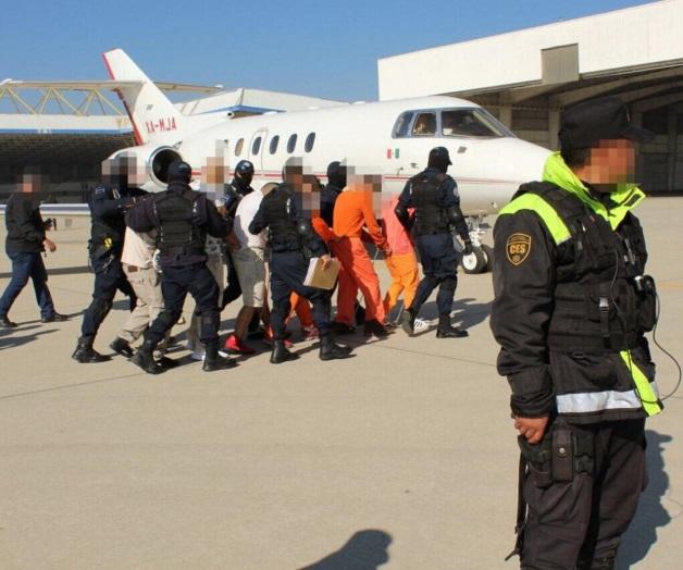 México recibió a 47 connacionales sentenciados del gobierno de Estados Unidos