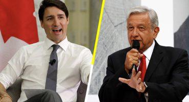 ¡Paro! Trudeau le pide una mano a López Obrador con Estados Unidos