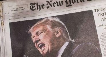Trump pide investigar quién escribió el artículo de The New York Times