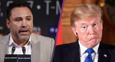 ¡Agárrate Trump! Óscar de la Hoya sería candidato a Presidencia de EU en 2020