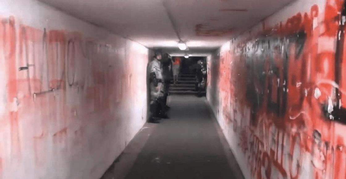Este es el túnel de futbol más escalofriante del mundo