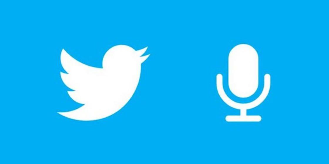 Ahora puedes transmitir audio a través de Twitter