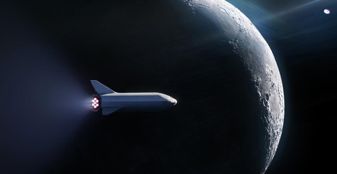 SpaceX cierra acuerdo con primer turista que viajará a la Luna