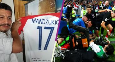 El doble regalo de Mandzukic a Yuri Cortez, el fotógrafo del Mundial, en Croacia