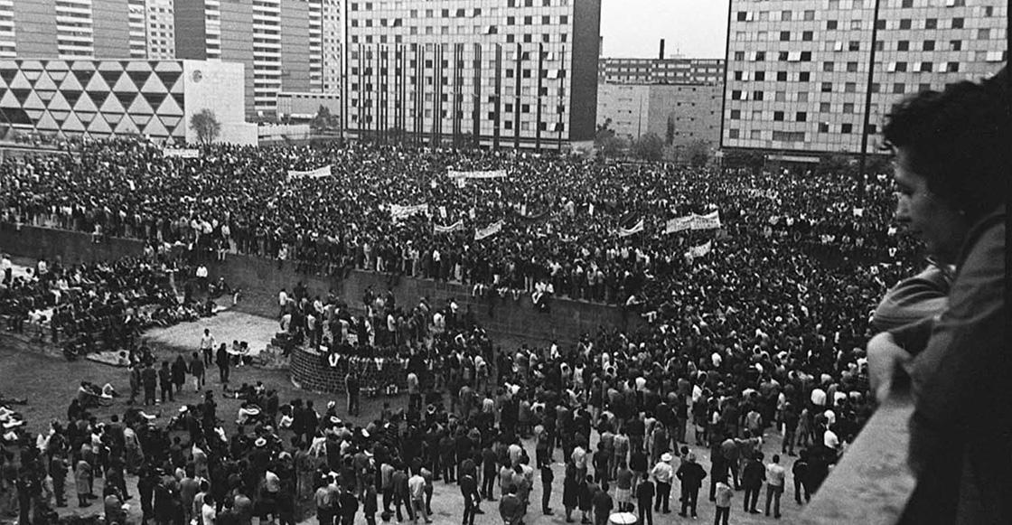 Los Rollos Perdidos: Las filmaciones secretas de la matanza del 2 de octubre del 68