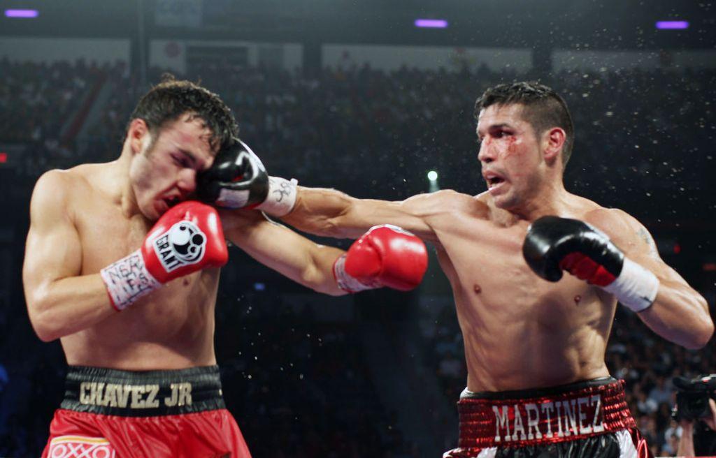 Chávez Jr y 'Maravilla' Martínez pactan pelea y se agarraron a Twitazos