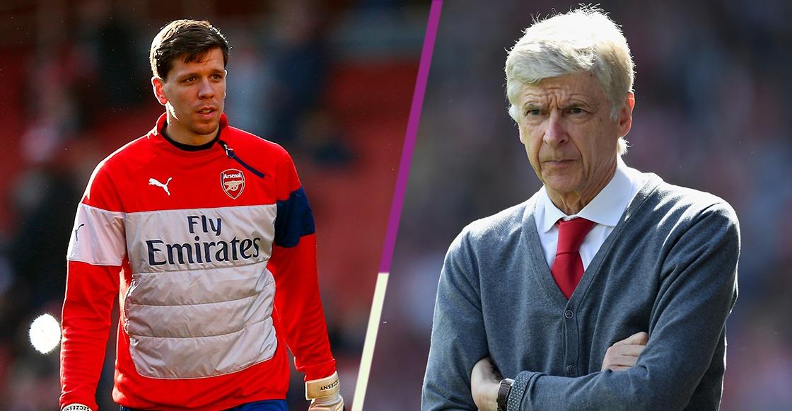 Wenger le quitó el vicio del cigarro a Szczesny a la mala en el Arsenal