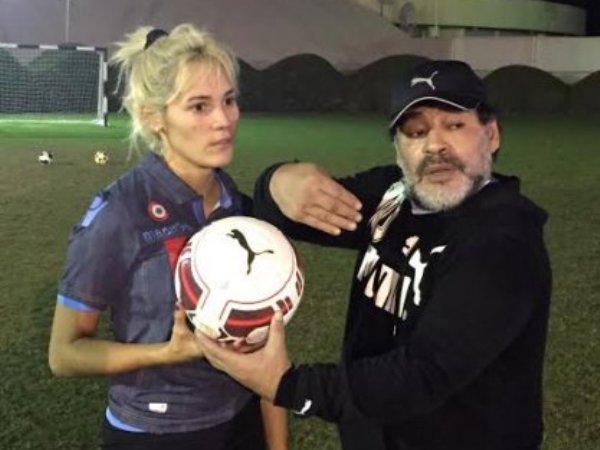 ¿Es neta? La novia de Maradona se integrará al equipo femenil de Dorados