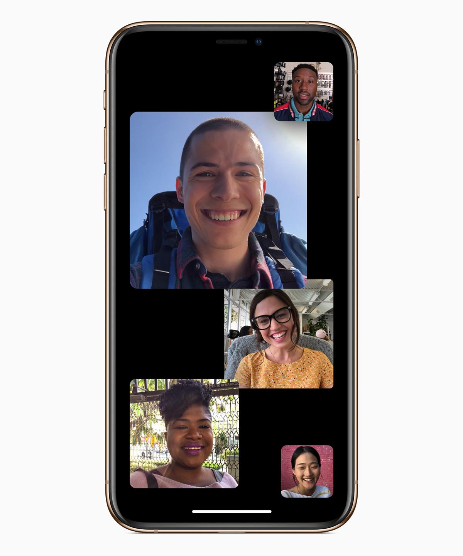 Nuevo iOS12.1 incorpora llamadas de grupo a FaceTime