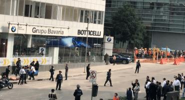 Reportan balacera en inmediaciones de Plaza Carso, Polanco