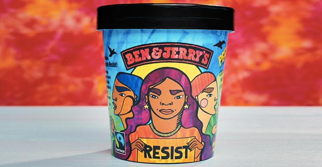No son fake news: Conoce el nuevo helado de Ben & Jerry's contra las políticas de Trump