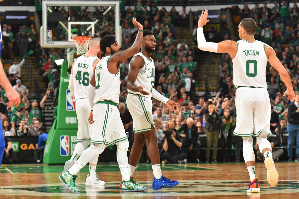 ¡Arrancó la NBA! Y acá las mejores imágenes de la victoria de los Celtics