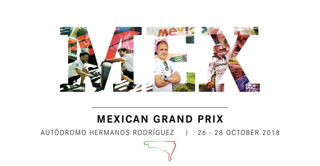 Este es el calendario de actividades día a día del Gran Premio de México