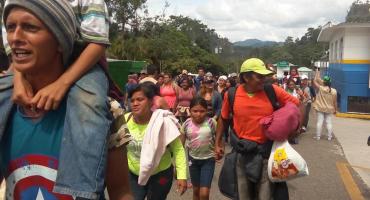 Trump agradece operativo en frontera Mx-Guatemala, caravana migrante no desiste